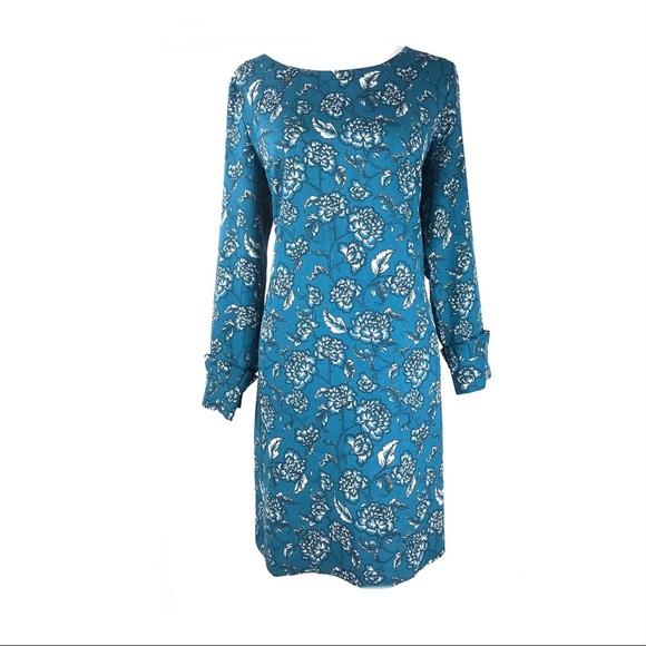 Banana Republic Dresses & Skirts - Banana Republic dress floral long sleeve ruffles